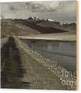 Pamir Highway Wood Print