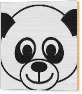 Panda Baby Wood Print