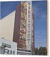 Paramount Theatre Oakland California Wood Print