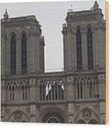 Paris France - Notre Dame De Paris - 01133 Wood Print