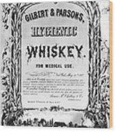 Patent Medicine Poster Wood Print