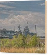 Patriots Point Maritime Wood Print
