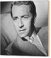 Paul Henreid, Ca. Mid-1940s Wood Print