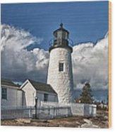 Pemaquid Point Lighthouse 4897 Wood Print