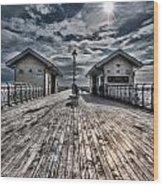 Penarth Pier 2 Wood Print