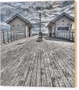 Penarth Pier 3 Wood Print
