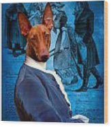 Pharaoh Hound Art Canvas Print Wood Print
