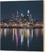 Philadelphia Reflections Wood Print