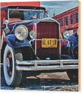 Pierce Arrow 3468 Wood Print