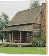 Pike County Indiana Wood Print