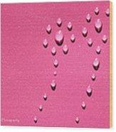 Pink Water Flower Wood Print by Kip Krause