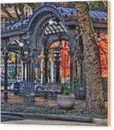 Pioneer Square - Seattle Wood Print