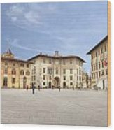 Pisa Wood Print by Joana Kruse