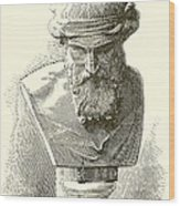 Plato  Wood Print