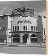 Pnc Park - Pittsburgh Pirates Wood Print
