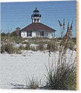 Port Boca Grande Lighthouse Wood Print