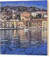 Porto Stefano In Italy Wood Print