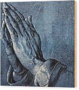 Praying Hands Wood Print by Albrecht Durer