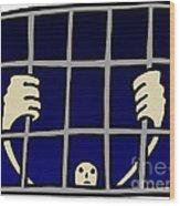 Prisoner Wood Print