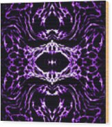 Purple Series 3 Wood Print by J D Owen