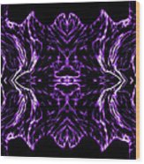 Purple Series 7 Wood Print
