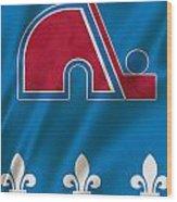 Quebec Nordiques Wood Print