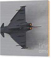 Raf Typhoon Wood Print