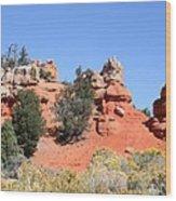Red Canyon - Utah Wood Print