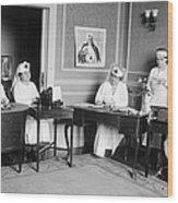 Red Cross, C1918 Wood Print