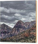 Red Rock Canyon - Las Vegas Nevada Wood Print
