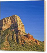 Red Rock Formation Sedona Arizona 28 Wood Print