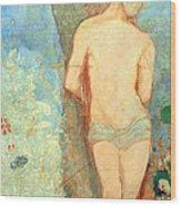 Redon's Saint Sebastian Wood Print