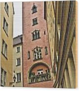 Regensburg Germany Wood Print