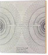 Relativity Wood Print by Jason Padgett