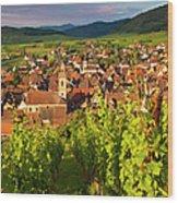 Riquewihr Alsace Wood Print