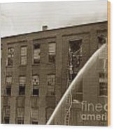 Rochester Show Case Co. Fire New York State Circa 1904 Wood Print