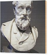 Rodin's J. B. Van Berckelaer Wood Print