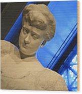 Rodin's Katherine Seney Simpson Wood Print