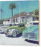 Romancing On San Diego Avenue Wood Print
