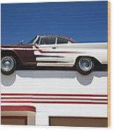 Route 66 - Desoto's Salon Wood Print