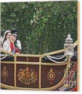 Royal Wedding Wood Print