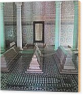 Saadian Tombs 2 Wood Print