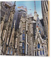 Sagrada Familia - Gaudi Wood Print