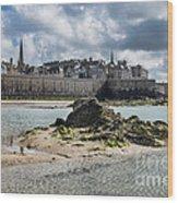 Saint Malo Wood Print