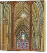Saint Patricks Cathedral Wood Print