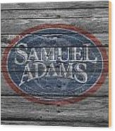 Samuel Adams Wood Print