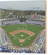 San Francisco Giants V Los Angeles Wood Print