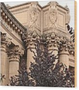 San Francisco - Palace Of Fine Arts Wood Print