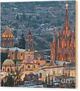 San Miguel De Allende, Mexico Wood Print