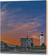 Sandy Neck Lighthouse Wood Print